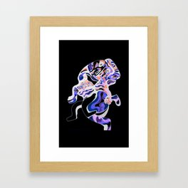 MOTHER IN ARMS [INVERSION] Framed Art Print