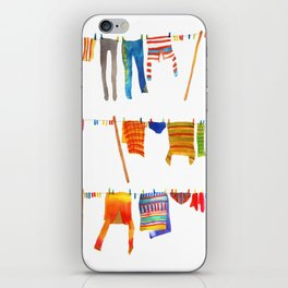 Laundry iPhone Skin