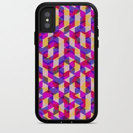 Myth Syzer - Neon (Pattern #12) iPhone Case