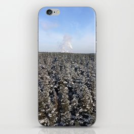 Above the Fold iPhone Skin