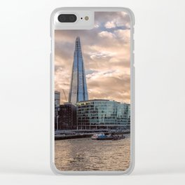 London Photography The Shard Clear iPhone Case