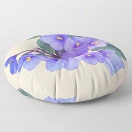 Spade's African Violet Floor Pillow