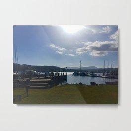 White Cross Bay 3 Metal Print