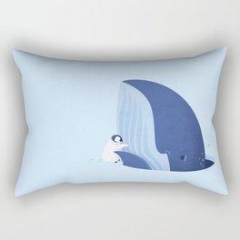 Antarctic Hugs by Ballsy Creative Rectangular Pillow