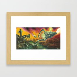 """Saviors"" by Adam France Framed Art Print"