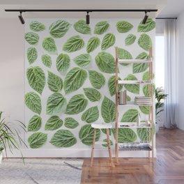 Leaves pattern (28) Wall Mural