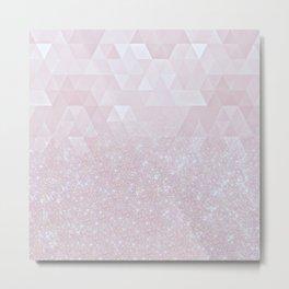 Experimental Glitter XI Metal Print