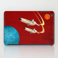 battlestar galactica iPad Cases featuring Galactica by Tony Vazquez
