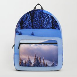 Snow Trees Backpack