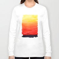 sunset Long Sleeve T-shirts featuring Sunset by Timone