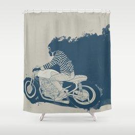 Go_x Shower Curtain