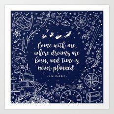 Where dreams are born Art Print