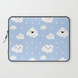 Blue Clouds Laptop Sleeve