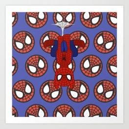 MU Pony Spider-man Art Print