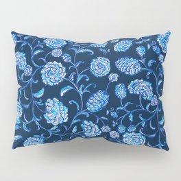 Blue & White Florals by Fanitsa Petrou Pillow Sham