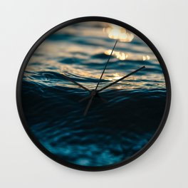 Cold Water Wall Clock