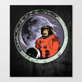 Space Monkeys Canvas Print