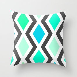 Delighted III Throw Pillow