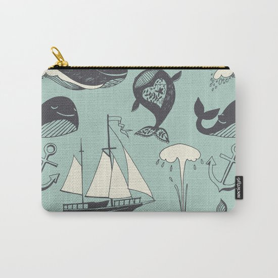 Whales 2 Carry-All Pouch