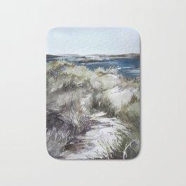 Cold seashore grass Bath Mat