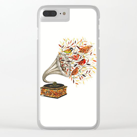 Nature  Music Makers Clear iPhone Case