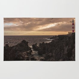 The Lighthouse guarding the coast. Rug