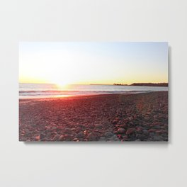 capo beach rocks  Metal Print