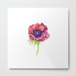 Floral Graphic Design Elements Metal Print