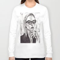 daria Long Sleeve T-shirts featuring Daria by Yuval Ozery