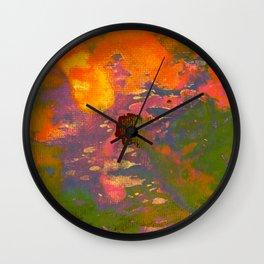 Colour on Colour on Coloursplash Wall Clock