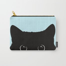 Black cat I Carry-All Pouch