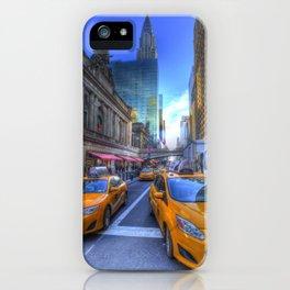 New York Street Scene iPhone Case
