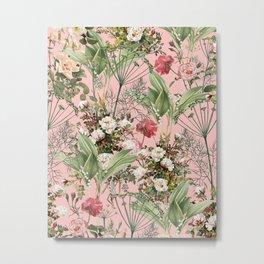 Botanic Metal Print