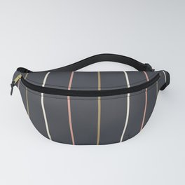 Preppy Stripes Fanny Pack