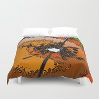 funky Duvet Covers featuring Funky Light by MehrFarbeimLeben