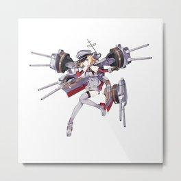 Kantai Collection - Bismarck Metal Print
