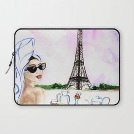 Brunch  in Paris Laptop Sleeve