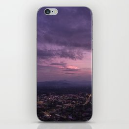 Asheville Stormy Nights Passing By iPhone Skin