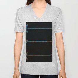 arrow minded texturized Unisex V-Neck