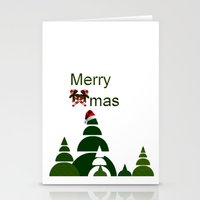 xmas Stationery Cards featuring Xmas by Anne Seltmann