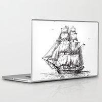 marine Laptop & iPad Skins featuring marine by ismailburc