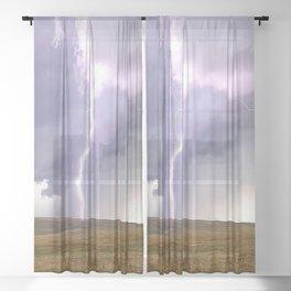 Landspout Sheer Curtain