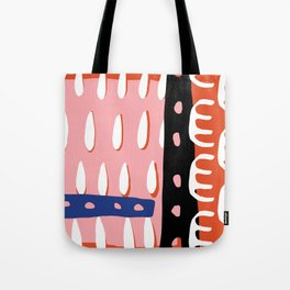 Abstract Drops Tote Bag