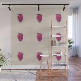 Strawberry Beret Wall Mural
