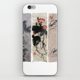 A novel in three chapters iPhone Skin
