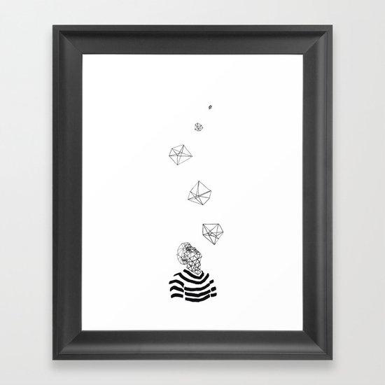 Prisme Framed Art Print