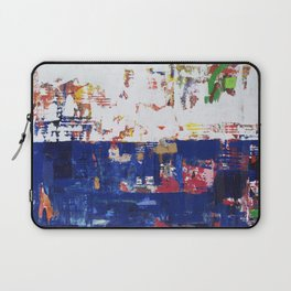 Myth Modern Art Blue Laptop Sleeve