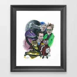 In The Not-Too-Distant Future Framed Art Print