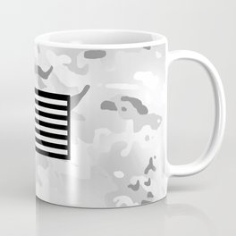 Arctic Camouflage: Black Flag Coffee Mug