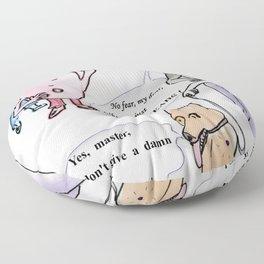 bubblers' dreams Floor Pillow